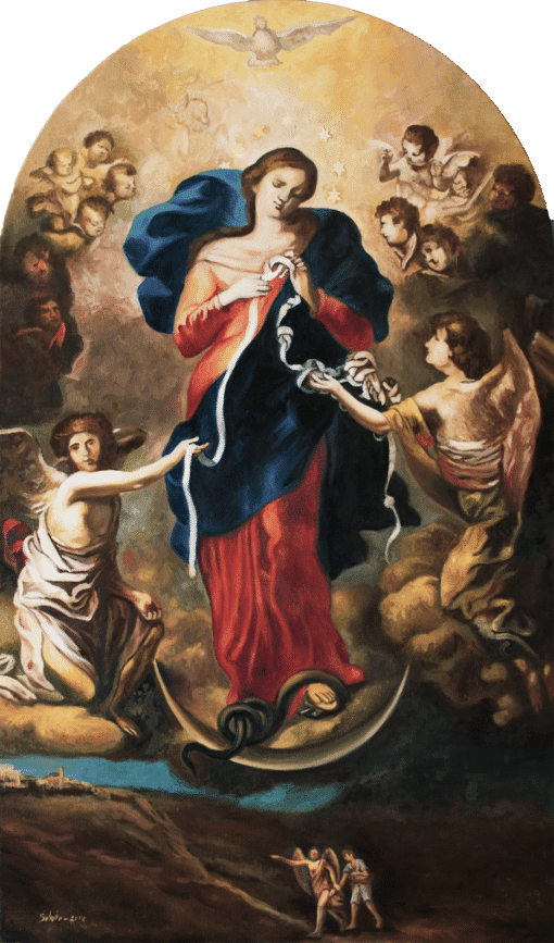 La Virgen desatanudos