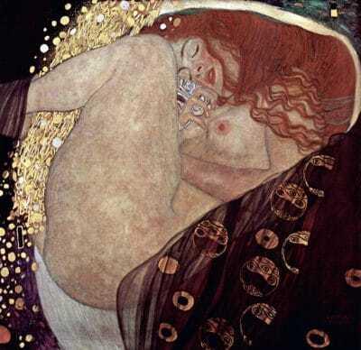 Danae de Gustav Klimt
