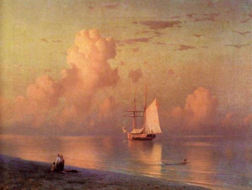 La puesta de sol de Iván Aivazovsky