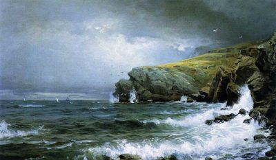 Marina, costa de Maine de William Trost Richards