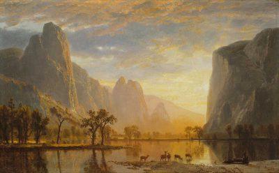 Valle de Yosemite de Albert Bierstadt