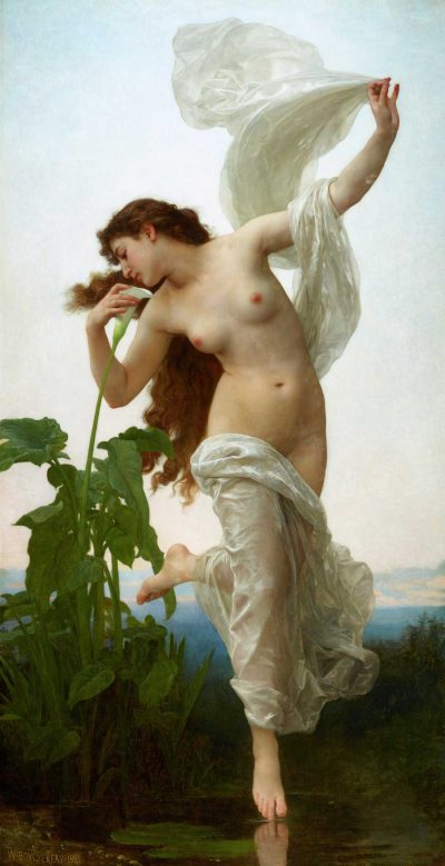 The Aurora or dawn de William Bouguereau