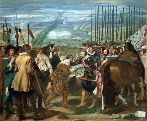 The Surrender of Breda by Velázquez