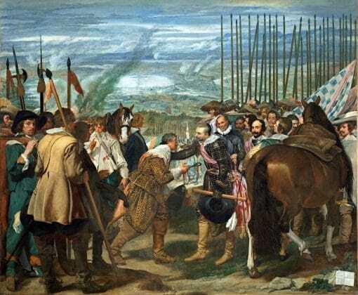 Las lanzas o La rendición de Breda de Velázquez
