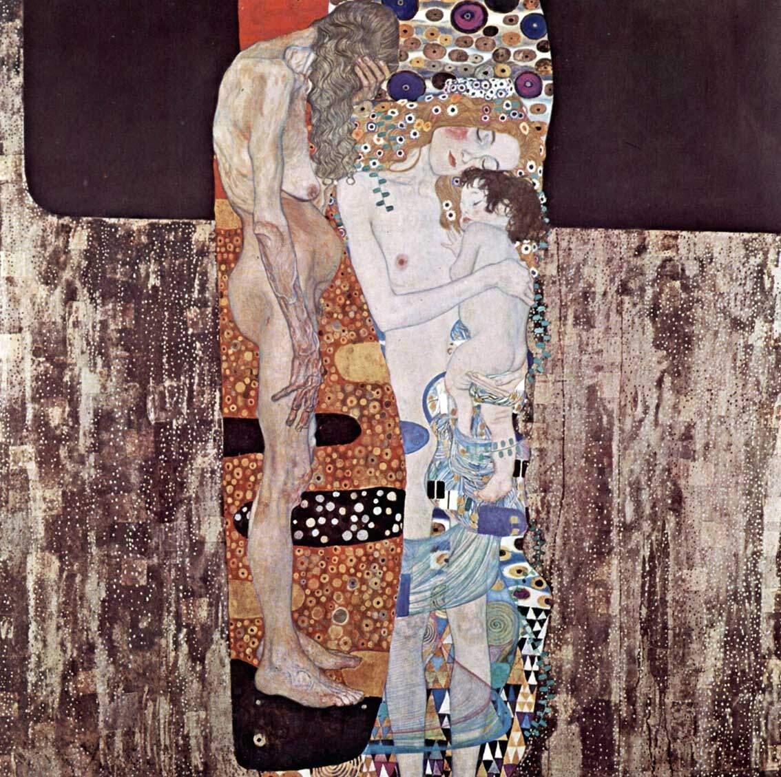 Las tres edades de la mujer de Gustav Klimt
