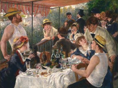El almuerzo de los remeros de Renoir
