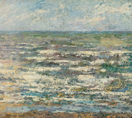 El mar en Katwijk de Jan Toorop