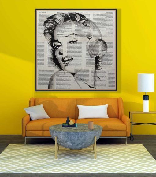 Marilyn Monroe de Copiamuseo, decoración 2