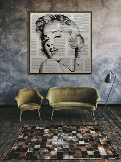 Marilyn Monroe de Copiamuseo, decoración