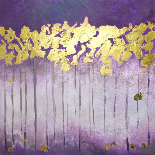 Árboles de hojas doradas de Copiamuseo