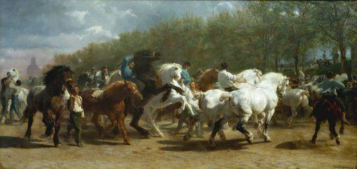 La feria del caballo de Rosa Bonheur