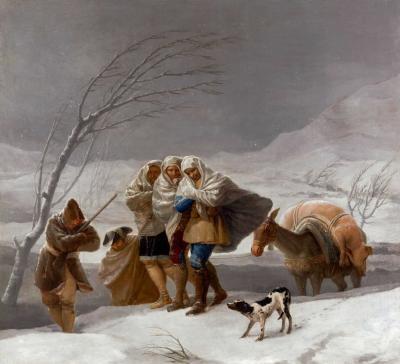 La nevada o El invierno de Goya