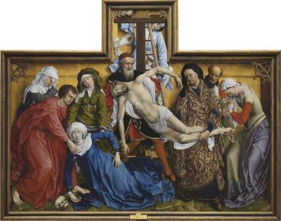 El Descendimiento de Rogier van der Weyden