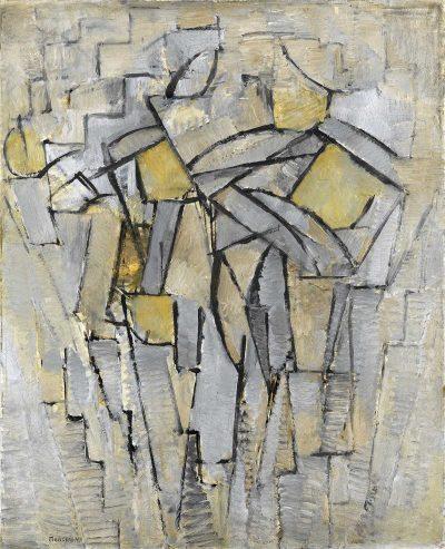 Composición nº XIII / composición 2 de Piet Mondrian