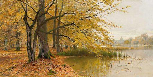 Día de otoño en Postdam de Walter Moras