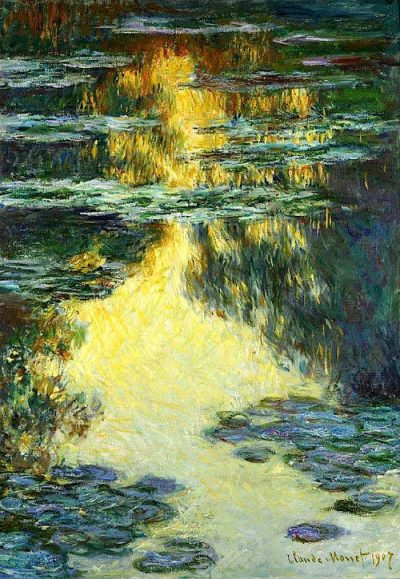 Nenúfares 3 de Monet