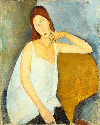 Jeanne Hébuterne de Modigliani