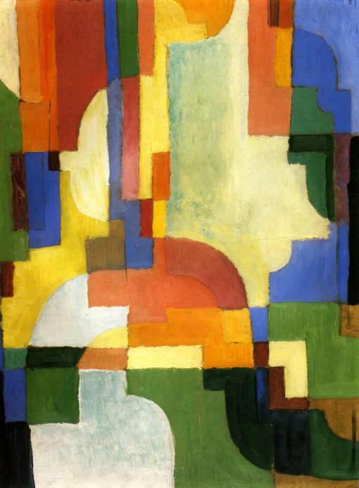 Formas coloreadas I de August Macke