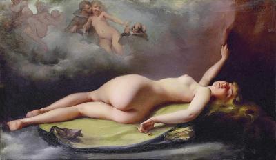 La fumadora de opio de Luis Ricardo Falero
