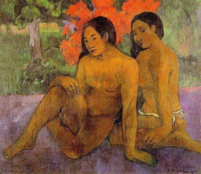 Y el oro de sus cuerpos de Gauguin