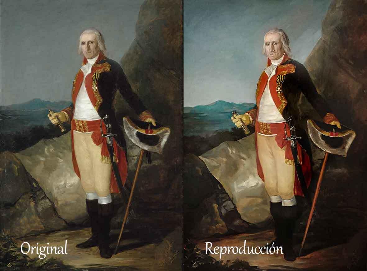 Comparación General Urrutia de Goya
