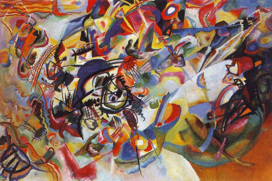 Composición VII de Kandinsky