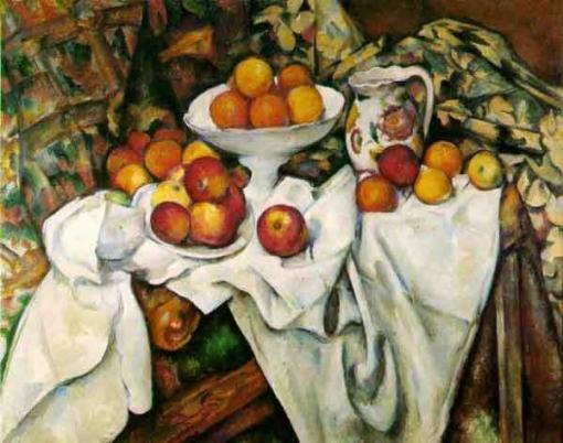 Manzanas y naranjas de Paul Cézanne