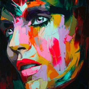 Retratos estilo Francoise Nielly