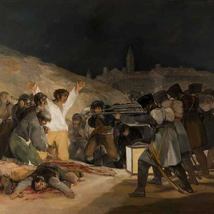 La muerte del picador - Goya