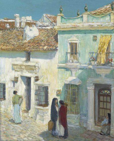 Plaza de la Merced, Ronda de Childe Hassam