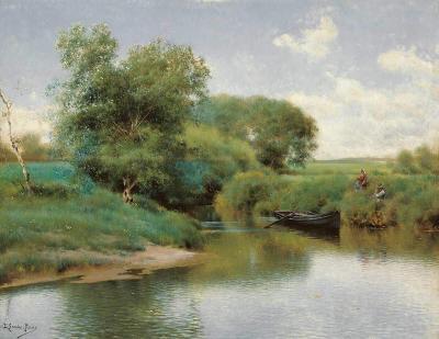 Un paseo por el río de Emilio Sánchez Perrier