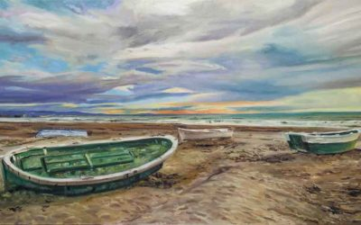 Marina original pintada por encargo