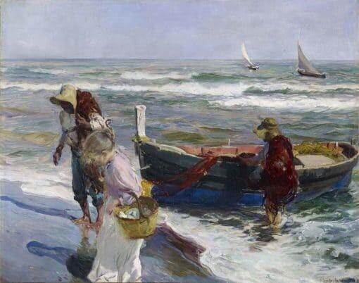 Llegada de la pesca de Sorolla