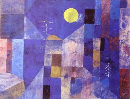 Luz de luna de Paul Klee