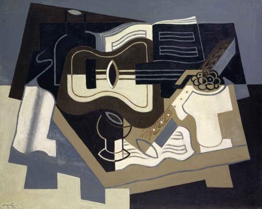 Guitarra y clarinete de Juan Gris