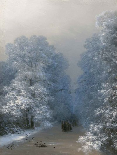 Paisaje invernal de Iván Aivazovsky