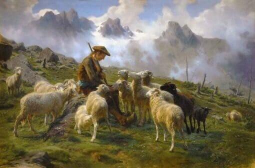 Pastor de los Pirineos de Rosa Bonheur
