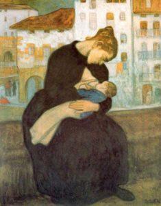 Maternidad de Aurelio Arteta