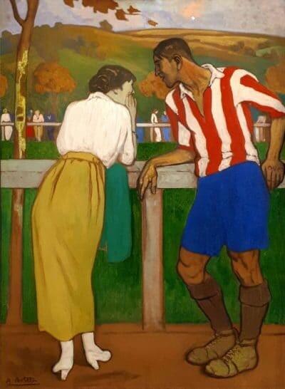 Idilio en los Campos de Sport, de Aurelio Arteta