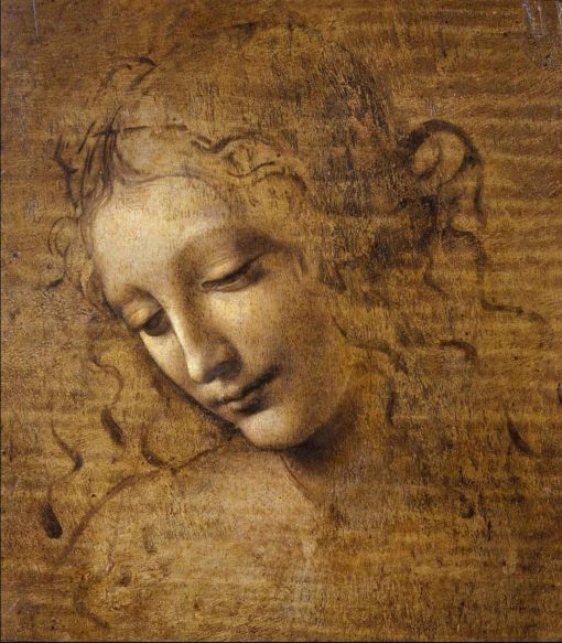 La despeinada (scapigliata), de Leonardo da vinci