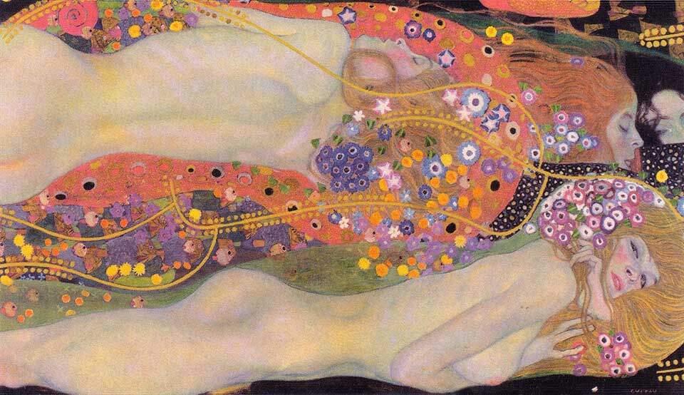 Serpientes de agua II, de Gustav Klimt