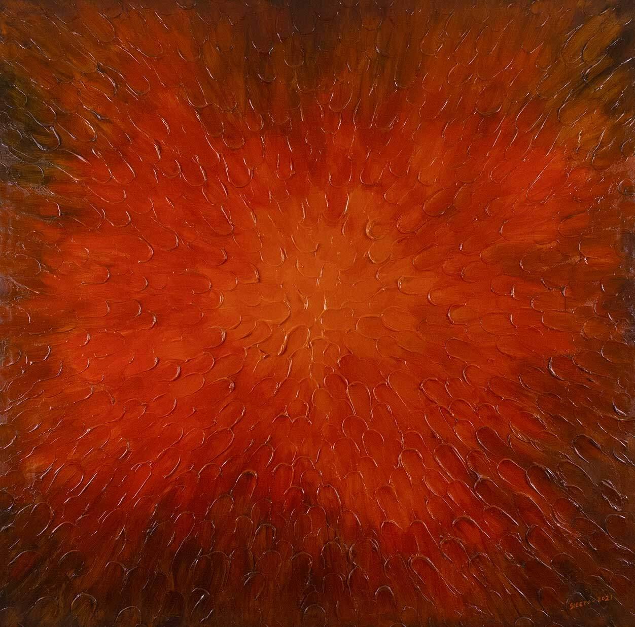 Abstracto rojo de Copiamuseo