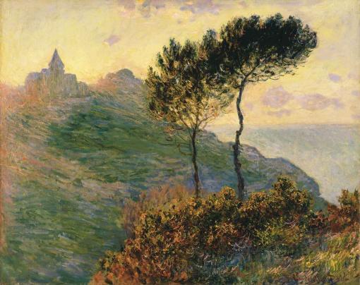La Iglesia de Varengeville de Monet