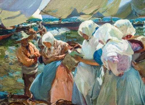 Pescadoras valencianas, de Joaquín Sorolla